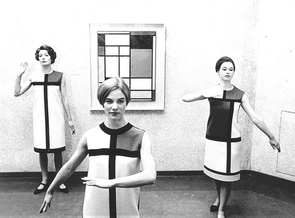 YSL Mondrian collection 1965