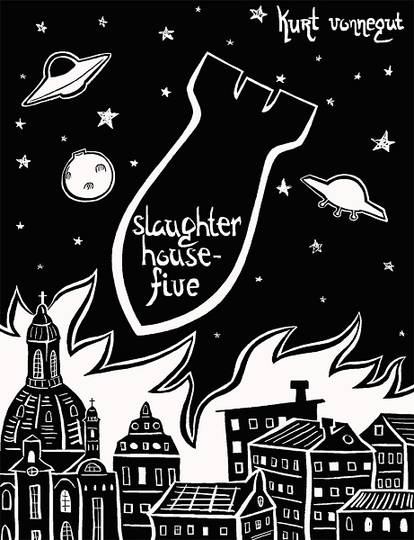 Vonnegut Slaughterhouse-Five Book Cover