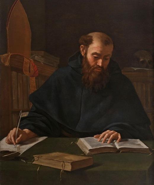 Caravaggio - Saint Augustine
