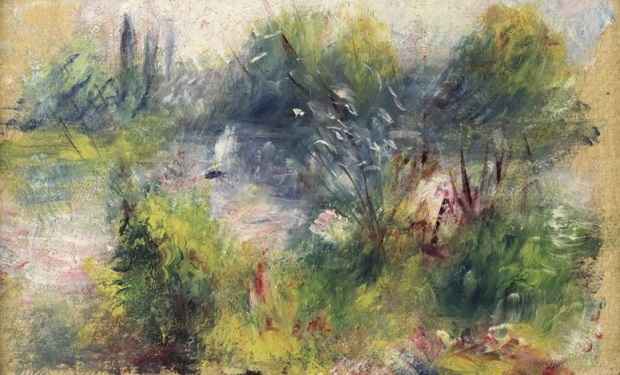 Renoir - Landscape on the Banks of the Seine
